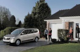 Dacia Lodgy, front