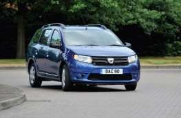 Dacia Logan MCV, front, action