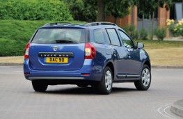 Dacia Logan MCV, rear, action