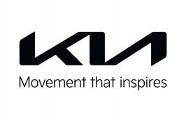 Kia logo with statement, 2021, Movement that Inspires