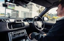Look, no hands - Self Driving Range Rover Sport