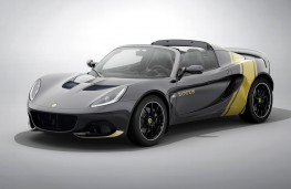 Lotus Elise Classic Heritage black and gold