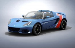 Lotus Elise Classic Heritage blue and red