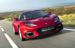 Lotus Evora GT410 head on
