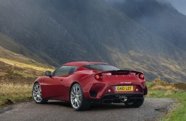 Lotus Evora GT410 rear threequarters