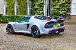 Lotus Exige Sport 380 Rear Threequarter