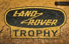 Land Rover Defender Works V8 Trophy, 2021, badge