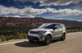 Land Rover Discovery, 2018, front