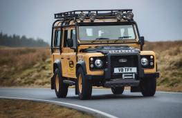 Land Rover Defender Works V8 Trophy, 2021, front