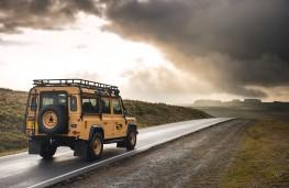 Land Rover Defender Works V8 Trophy, 2021, rear