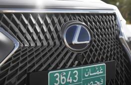 Lexus LS 500h, 2018, grille