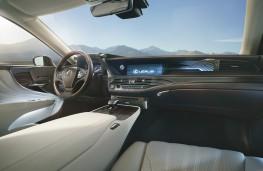 Lexus LS 500h, 2018, interior