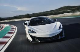 McLaren 600LT, 2018, nose, action
