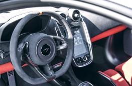 McLaren 600LT, 2018, interior
