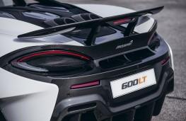 McLaren 600LT, 2018, rear, detail