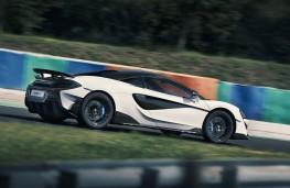 McLaren 600LT, 2018, side