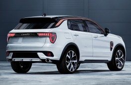 Lynk and Co 01, rear