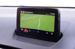 Mazda2 GT Sport, 2017, sat nav display screen