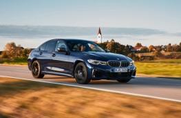 BMW M340d xDrive mild-hybrid, 2020, front