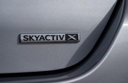 Mazda3 SkyActiv-X saloon, 2019, badge