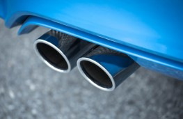 BMW M3, exhaust cluster
