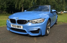 BMW M3, front, static