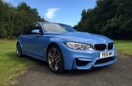 BMW M3, front, side