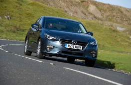 Mazda3, front, action