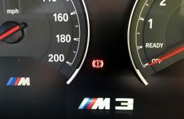 BMW M3, instruments