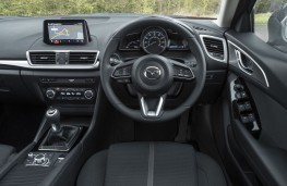 Mazda3 Sport Black, 2018, interior
