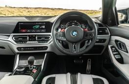 BMW M3 Competition, 2021, interior