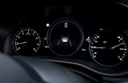 Mazda3 SkyActiv-X saloon, 2019, instrument panel