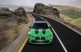 BMW M3, head on