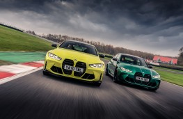 BMW M4 Competition and BMW M3 Competition, 2021, pair