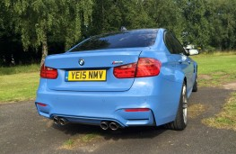 BMW M3, exhausts