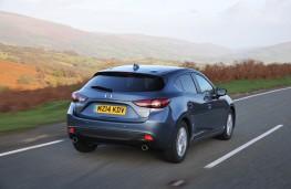Mazda3, rear