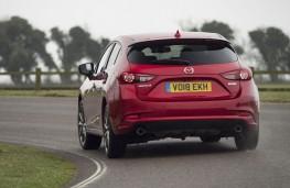 Mazda3 Sport Black, 2018, rear