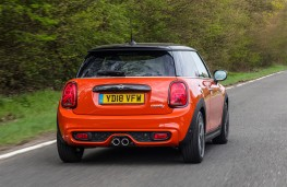 MINI Cooper S, 2018, three door, rear