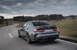 BMW M3 Competition Coupe M xDrive, 2021, rear