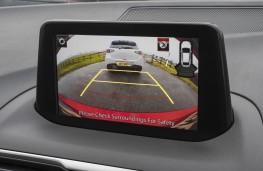 Mazda3 Sport Black, 2018, display screen