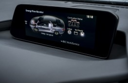 Mazda3 SkyActiv-X saloon, 2019, display screen