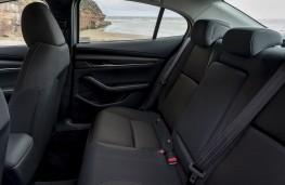 Mazda3 SkyActiv-X saloon, 2019, rear seats