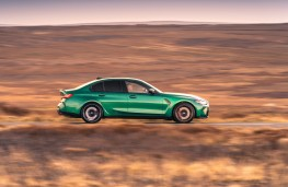 BMW M3 Competition, 2021, side