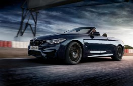 BMW M4 Convertible, side