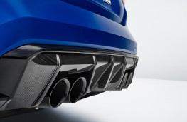 BMW M4 Competition Convertible M xDrive, 2021, diffuser and exhausts