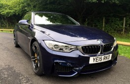 BMW M4 Convertible, front, static