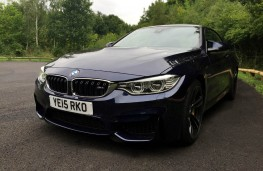 BMW M4 Convertible, front