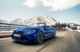 BMW M4 Competition Convertible M xDrive, 2021, front