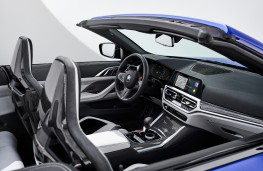 BMW M4 Competition Convertible M xDrive, 2021, interior, front