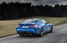 BMW M4 Competition Coupe M xDrive, 2021, rear